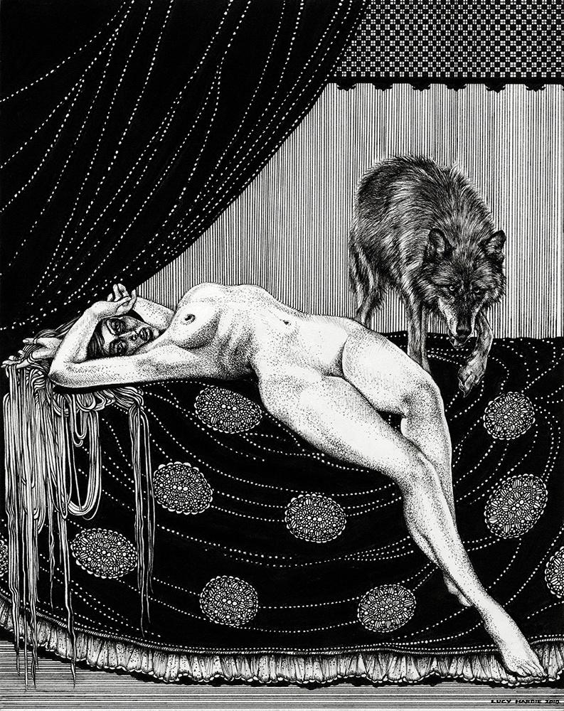 Женщина и волк, 2010 г.