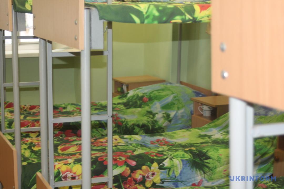 Спальні для безхатьків