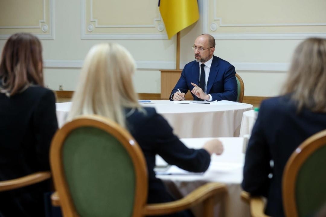 Денис Шмигаль / Фото: Урядовий портал
