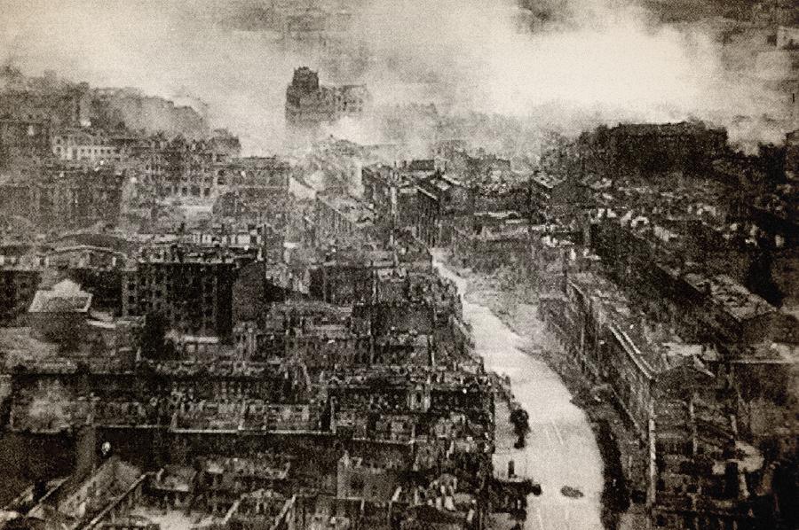 24 вересня 1941 року, близько 16 години дня, в центрі Києва, на Хрещатику почалася серія потужних вибухів, які тривали всю ніч 24 вересня 1941 року, близько 16 години дня, в центрі Києва, на Хрещатику почалася серія потужних вибухів, які тривали всю ніч