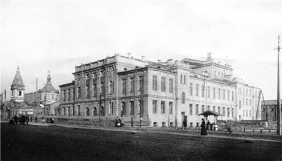 будівля Троїцького народного дому, Київ, початок ХХ століття