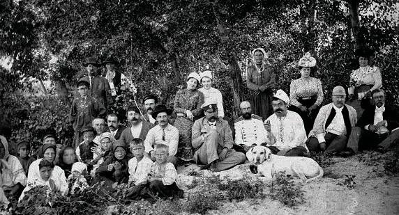 Театральна трупа Панаса Саксаганського та Івана Карпенка-Карого, 1890-ті рр.
