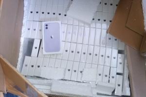 Mann versucht, Apple-Geräte in Wert von 17,5 Mio. Hrywnja über die Grenze zu schmuggeln