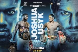 Boxe : la bande-annonce officielle du combat Usyk-Joshua est sortie