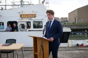 La Belgique a transféré à l'Ukraine un navire de recherche pour la surveillance de la mer Noire et de la mer d'Azov