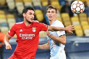 Champions League: Dynamo, Benfica draw in Kyiv