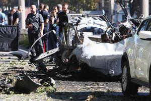 Autoexplosion in Dnipro mit zwei Toten: Polizei geht von Terroranschlag aus