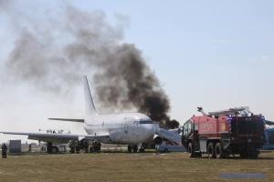 В аэропорту «Борисполь» прошли масштабные учения
