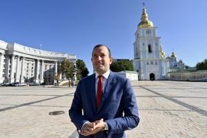 El comisario europeo Sinkevicius llega a Ucrania para discutir el Pacto Verde Europeo