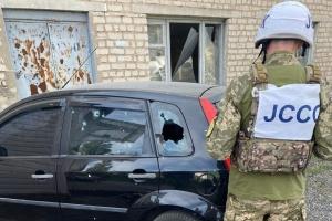Україна повідомила ОБСЄ про обстріл Щастя окупантами