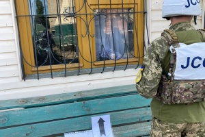 Ucrania informa a la OSCE sobre el bombardeo contra Shchastia por parte de los ocupantes