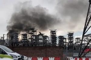 Британии грозит энергокризис - пожар повредил ключевой кабель