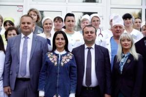 На Вінниччині відкрили оновлене приймальне відділення Могилів-Подільської ОЛІЛ
