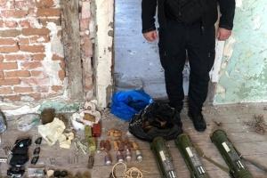 На Закарпатті у схроні знайшли десятки гранат