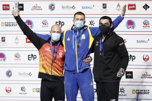 Украинец Болдырев выиграл «золото» чемпионата мира по скалолазанию