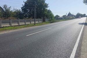 На Одещині відремонтували ділянку дороги у бік Вінниці