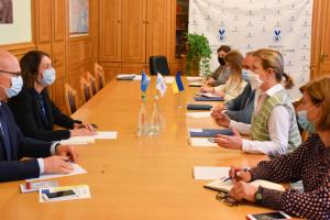 Лапутіна зустрілася з головою Моніторингової місії ООН із прав людини