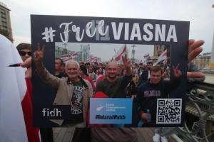 FreeViasna: у Києві - акція на підтримку ув'язнених білоруських правозахисників