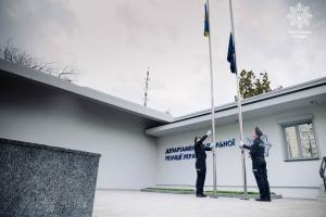 В Киеве открыли мемориал погибшим патрульным полицейским