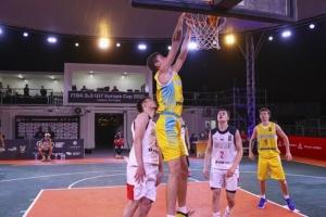 Україна перемогла Росію і вийшла до 1/4 фіналу юнацького Євробаскета 3х3