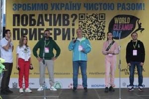 Украина присоединится ко Всемирному дню уборки