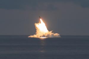 Штати випробували балістичну ракету над водами Атлантичного океану