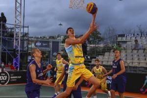 Збірні України сьогодні боротимуться за медалі юнацького Євробаскета 3х3