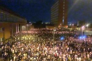 В Испании 25 тысяч студентов устроили нелегальную вечеринку