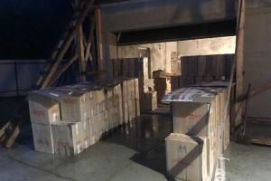 Поблизу кордону з Румунією вилучили 110 ящиків контрафактних сигарет