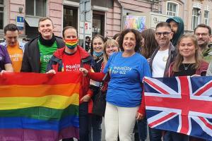 Послы трех стран приняли участие в Марше равенства в Киеве