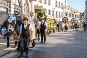 У Мюнхені проходить символічний Октоберфест