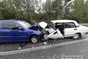 В Житомирской области 15-летний водитель совершил ДТП с четырьмя пострадавшими
