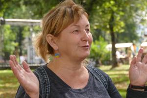 Ольга Клименко, колишня полонена, ветеранка
