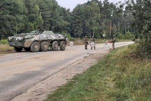 Розвідка і вогонь по ворогу: спецпризначенці провели тренування з оборони кордону