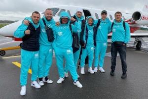 Boxen: Usyk begibt sich nach London für Kampf mit Joshua