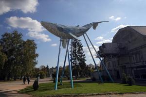 Ткаченко запрошує оглянути екоскульптуру «Київський кит» на території ВДНГ