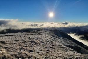 В Карпатах зафиксировали 6° мороза