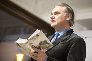 КУМФ запросила на авторські читання з письменником Mарком Робертом Стехом