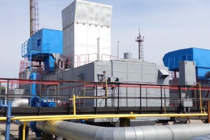 Укртрансгаз обновил компрессорную станцию Кегичевского ПХГ
