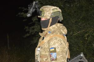 Saber Junction-2021: українські десантники провели нічне тренування