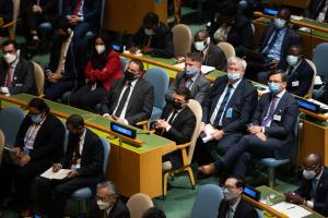 Зеленский принял участие в открытии 76-й сессии Генассамблеи ООН
