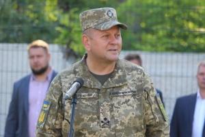 Залужний обговорив з головою Військового комітету НАТО безпекову ситуацію біля кордонів України