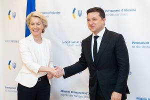 Зеленский встретился с президентом Еврокомиссии и американскими инвесторами