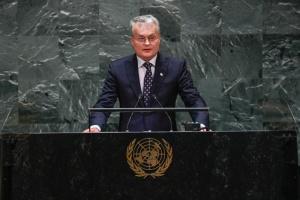 Науседа в ООН: Политику непризнания оккупации Крыма нужно укрепить