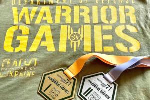 Ветераны из Чернигова стали чемпионами мира на международных Играх воинов в Штатах