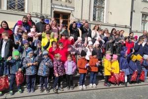 В Дрогобыче провели праздник близнецов