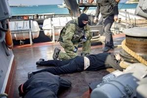 В Украине объявили подозрение комбригу РФ, руководившему захватом корвета «Хмельницкий»