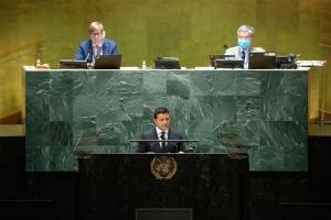 ООН надо реагировать на раздачу РФ паспортов на оккупированных территориях - Зеленский