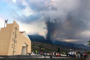 Через виверження вулкану на Канарах обмежили польоти цивільної авіації