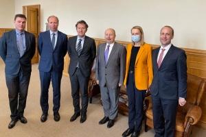 Немчинов обсудил с делегацией Программы SIGMA реформу госуправления